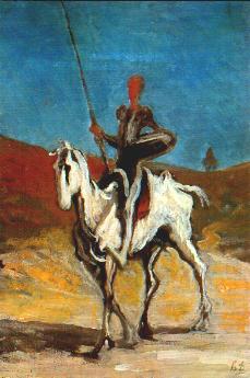 Daumier - Don Quichot heeft vele gedaanten