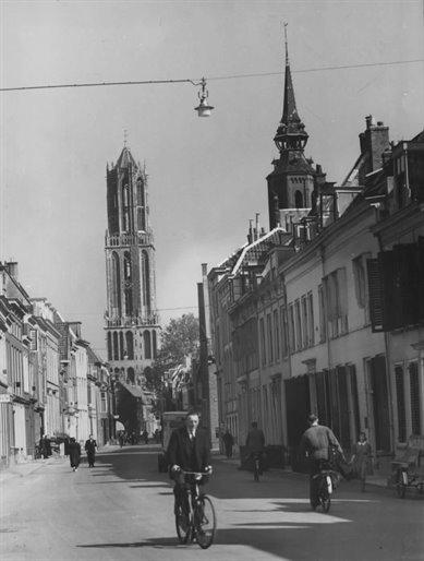 noordelijke gedeelte van de Lange Nieuwstraat-Jesse1942